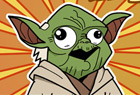 Yoga VS Yoda Comic Thumb